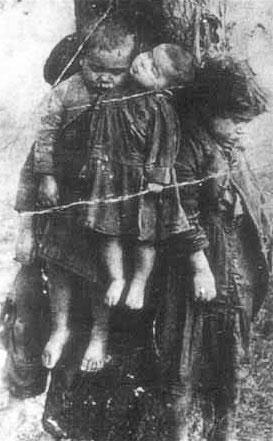 Вот что делали с польскими детьми украинские националисты, претендующие сейчас, с благословения Ющенко, на получение статуса ветеранов великой отечественной войны